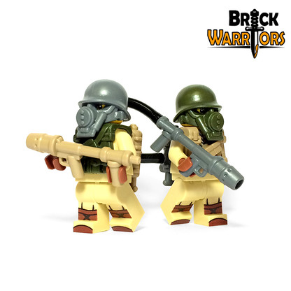 Custom LEGO® Gun - US Flamethrower