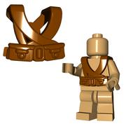 Minifigure Armor - Japanese Suspenders