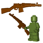 Minifigure Gun - Soviet Rifle