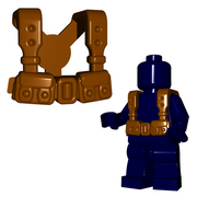 Minifigure Armor - French Suspenders