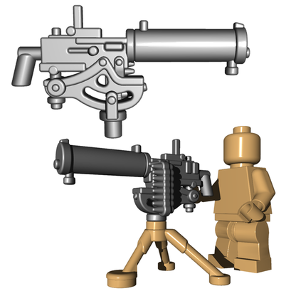 Minifigure Gun - US Water Cooled Machine Gun