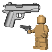Custom Minifigure Gun - US Pistol