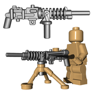 Custom Minifigure Gun - Japanese HMG