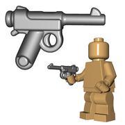 Custom Minifigure Gun - Japanese Pistol