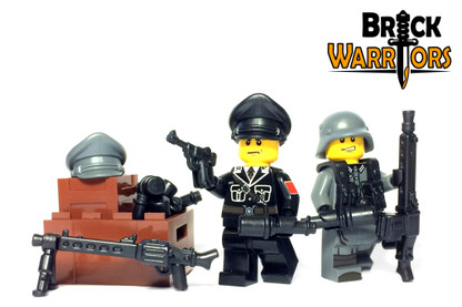 Minifigure Torso - German Officer