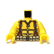 Custom Printed Minifigure Torso - Mortar Man