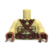 Minifigure Custom Torso - Japanese Infantry Torso