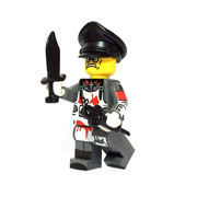 Custom LEGO® Minifigure - German Scientist