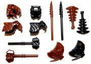 "BrickWarriors 2.5"" Scale Prehistoric Hunter Builder Pack"