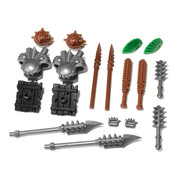 "BrickWarriors 2.5"" Scale Ogre and Goblin Army Builder Pack"