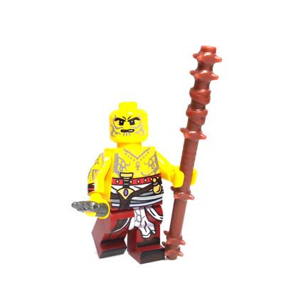 Custom LEGO® Minifigure - Monk