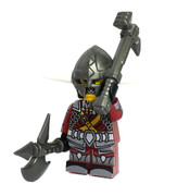 Custom LEGO® Minifigure - Dwarven Fighter