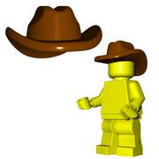 Minifigure Hat - Cowboy Hat