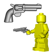 Minifigure Gun - Six Shooter