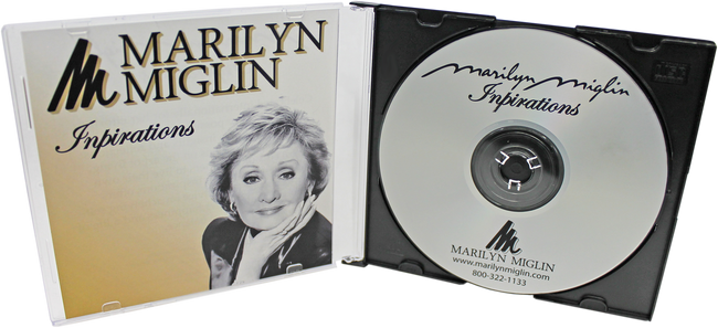 Marilyn Miglin Inspirations CD