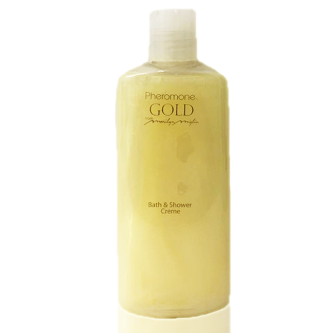 Pheromone Gold Bath & Shower Creme 8 oz
