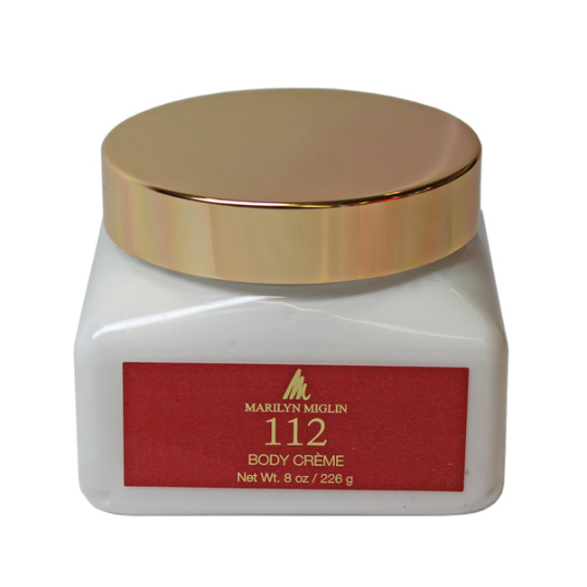 Marilyn Miglin 112 Body Creme 8 oz Jar