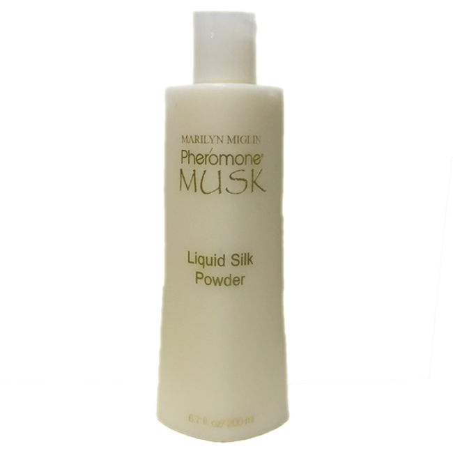 Pheromone Musk Liquid Silk Powder 6.7 oz