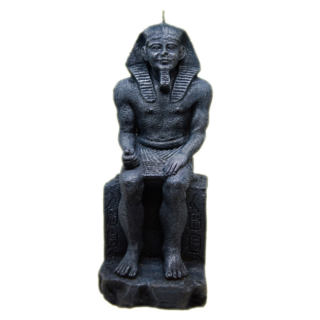 Sitting Pharaoh Statue Candle
