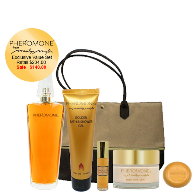 "Pheromone ""Lavish Treatment"" Gift Set"