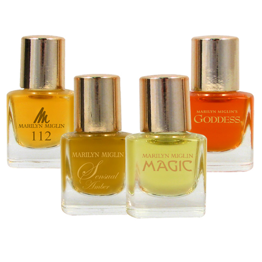 Marilyn Miglin Perfume Coffret Collection (112 / Sensual Amber / Magic / Goddess)