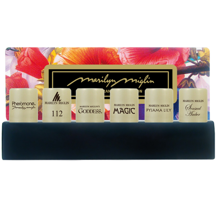 Marilyn Miglin Solid Fragrance Collection (Pheromone / 112 / Goddess / Magic / Pyjama Lily / Sensual Amber)