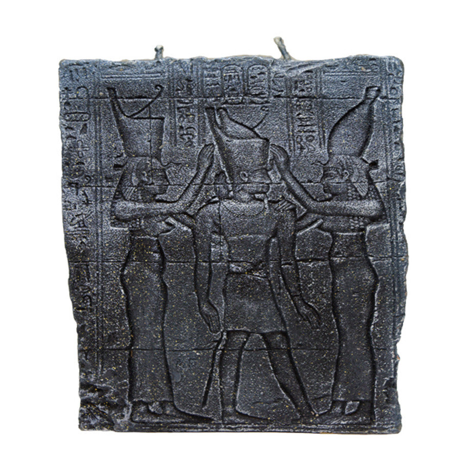 (M) Blk Hieroglyphs Story of Candle