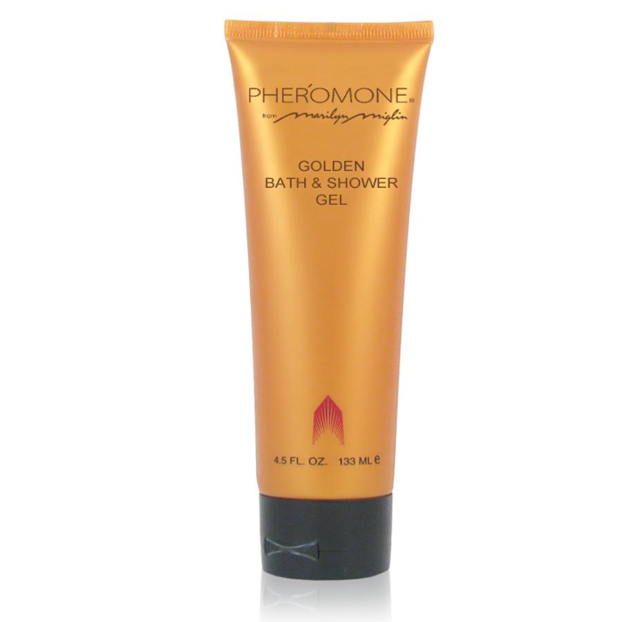 Pheromone Golden Bath & Shower Gel 4.5 oz