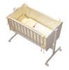 baby cradle white