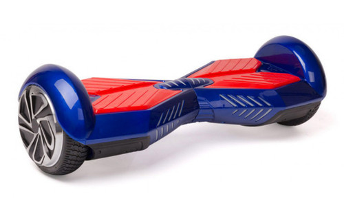 8 inch blue and red hoverboard