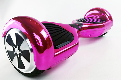 6.5 pink chrome hoverboard