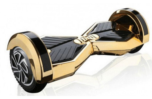 10 inch gold chrome gyroscooter
