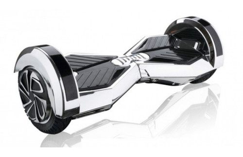 10 inch chrome silver hoverboard