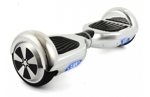 6.5 silver hoverboard chrome