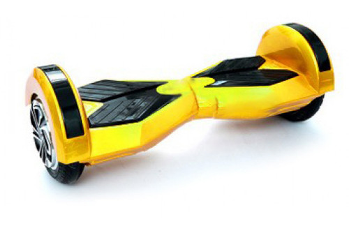 Yellow 8 inch hover board