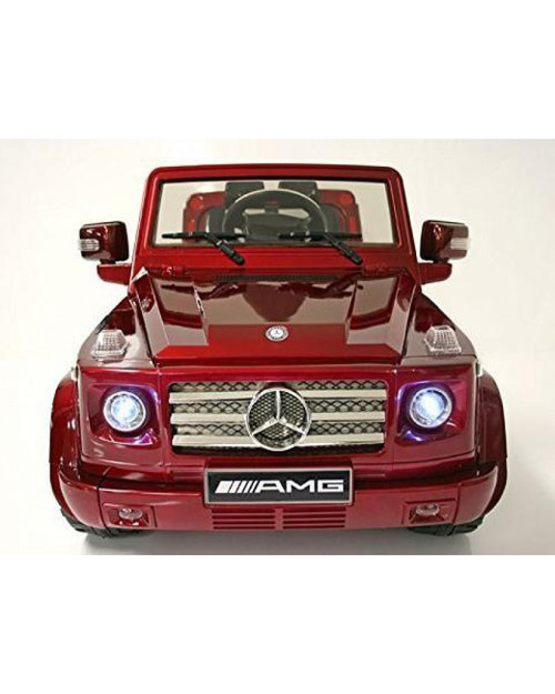Battery power stylish mercedes benz g55 12v burgundy for Mercedes benz battery warranty