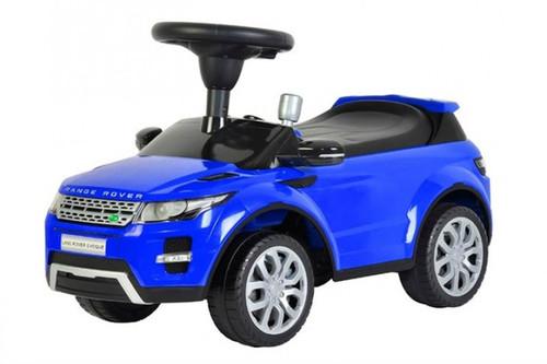 Range rover blue push car for kids
