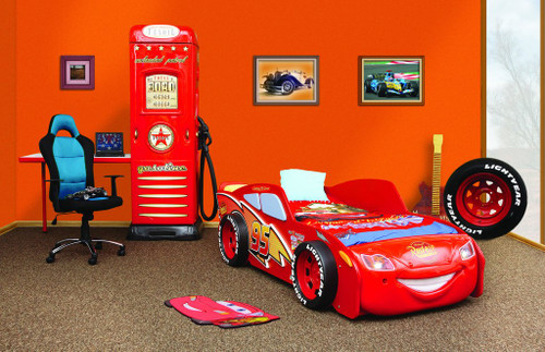 disney car lightning mcqueen toddler bed mcqueen bed for kids
