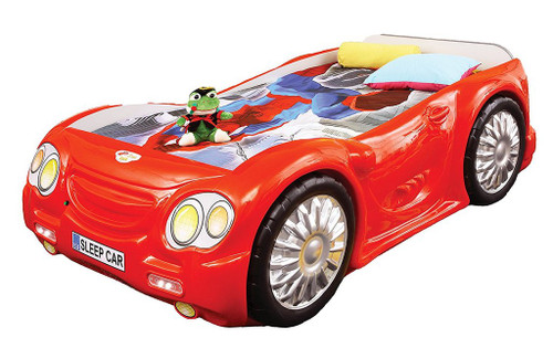 Sleep Car Bed For Kids | Red