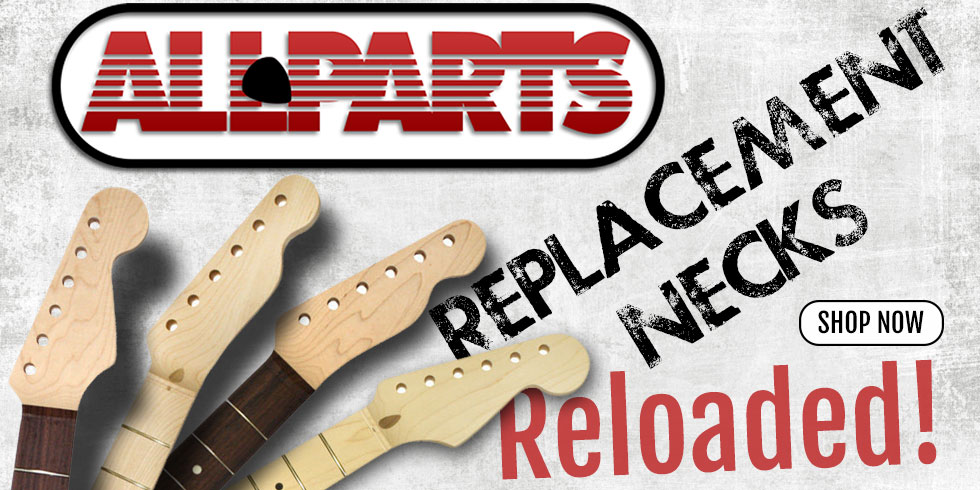 REPLACEMENT GUITAR NECKS
