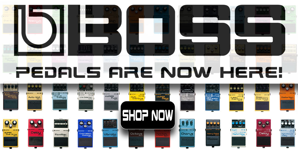 BOSS GUITAR PEDALS AND EFFECTS