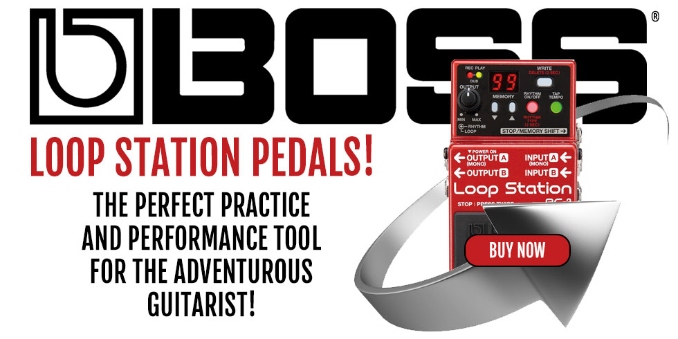 BOSS EFFECT LOOP PEDALS