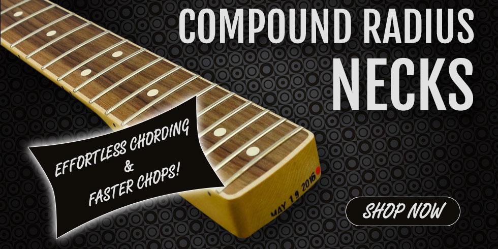 COMPOUND RADIUS NECKS
