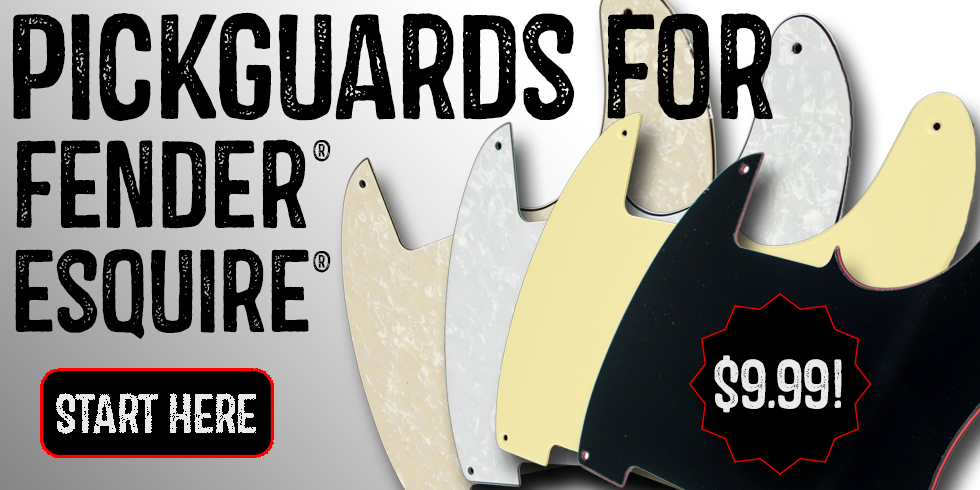 PICKGUARDS FOR FENDER ESQUIRE
