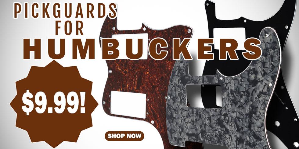 PICKGUARDS FOR HUMBUCKERS