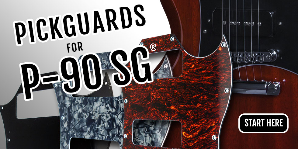 GIBSON SG PICKGUARDS
