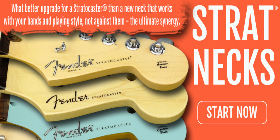 FENDER STRAT GUITAR NECKS