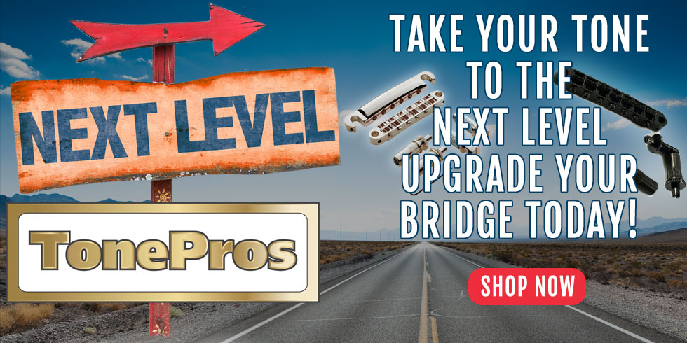 UPGRADE YOUR GUITAR BRIDGE
