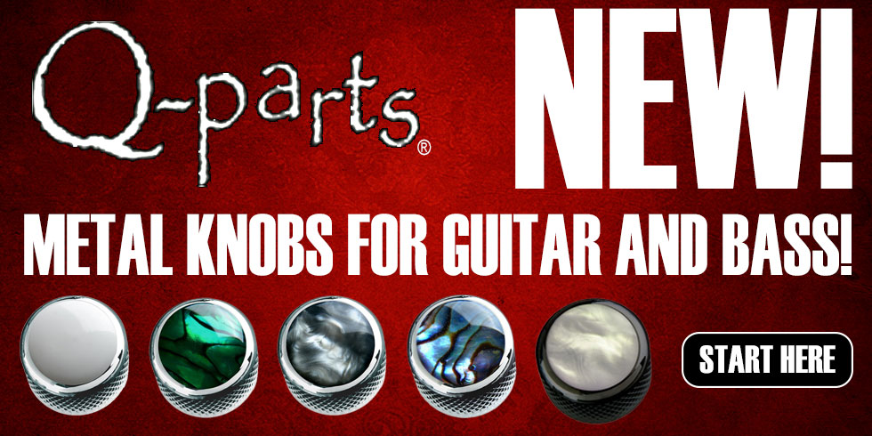 GUITAR KNOBS FOR STRAT TELE BASS