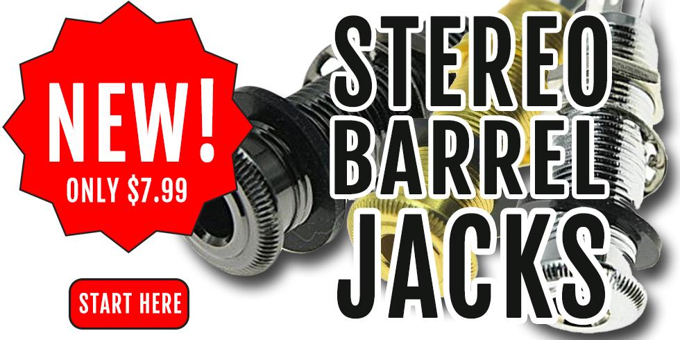STEREO GUITAR JACK